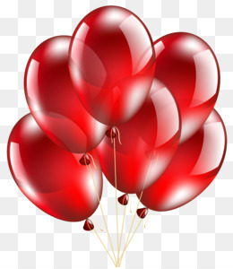 red balloon png red balloon transparent clipart free download