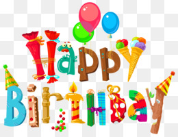 Birthday Cake, Birthday, Happy Birthday To You, Food, Text PNG image with transparent background