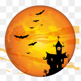 Halloween, Haunted House, Poster, Calabaza PNG image with transparent background