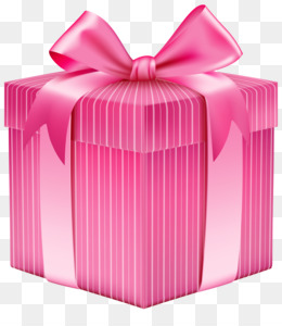 Gift, Box, Pink, Product PNG image with transparent background