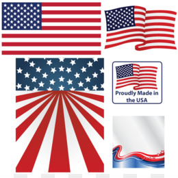 American Flag Background 2193*662 transprent Png Free