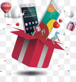 Iphone, Gift, Box, Pattern, Gadget PNG image with transparent background