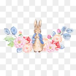 free download the tale of peter rabbit clip art rabbit and flowers rh kisspng com beatrix potter peter rabbit clipart peter rabbit clipart free