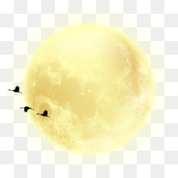Moon, Mid Autumn Festival, Vecteur, Yellow PNG image with transparent background