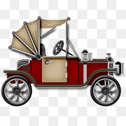 Vintage Car Clip Art   Old Car PNG Material