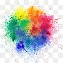 Holi, Festival, Color, Watercolor Paint, Art PNG image with transparent background