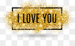 Love, Valentine S Day, Royalty Free, Gold, Text PNG image with transparent background