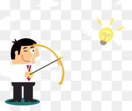 Résumé, Archery, Target Archery, Yellow, Cartoon PNG image with transparent background
