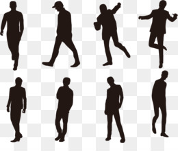 Silhouette, Photography, Encapsulated Postscript, Standing, Human Behavior PNG image with transparent background