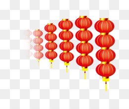 Lantern, Chinese New Year, New Year, Orange, Petal PNG image with transparent background