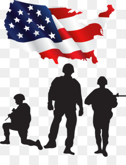 American Soldiers PNG - wwii-american-soldiers-silhouette wwii