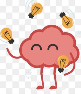 Cartoon Brain PNG &...