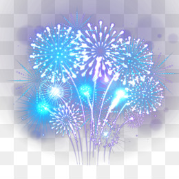 Fireworks, Encapsulated Postscript, New Year, Blue, Electric Blue PNG image with transparent background