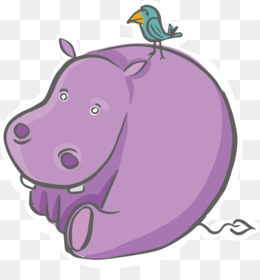 Hippo Vector PNG And PSD Free Download