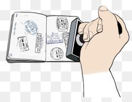 Passport Stamp Seal Rubber