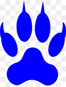 lion dog cougar paw clip art cougar paw clipart png download 462 rh kisspng com  cougar paw print clip art free