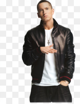 Eminem Flight jacket Leather jacket - Eminem PNG Image b53d13fc00