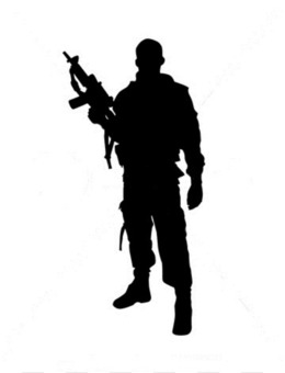 soldier silhouette png soldier silhouette transparent clipart free rh kisspng com Female Soldier Silhouette Soldier Saluting Silhouette