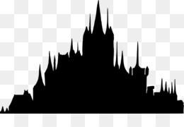 silhouette castle disney princess clip art disney castle png rh kisspng com  castle clipart black and white free