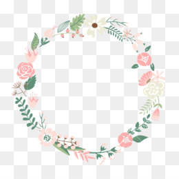 Flower, Picture Frame, Wreath, Square, Area PNG image with transparent background