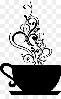 Coffee Time PNG Transparent Clipart Free Download