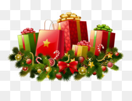 Santa Claus, Christmas, Gift, Flower Arranging, Flower PNG image with transparent background