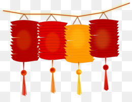 Japan, Paper Lantern, Lantern, Orange PNG image with transparent background