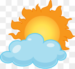 free download cloud clip art partly cloudy clipart png rh kisspng com Cartoon Sun and Clouds Mostly Sunny Cartoon