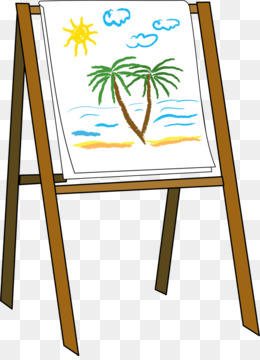 easel art painting clip art easel cliparts png download 548 750 rh kisspng com