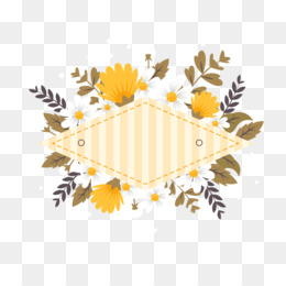 Paper, Flower, Wedding Invitation, Yellow, Line PNG image with transparent background