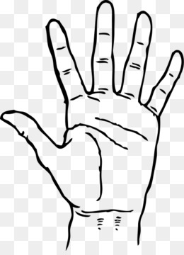free download hand high five clip art black hand cliparts png