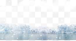 Ice, Snow, White, Blue, Winter PNG image with transparent background