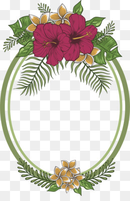 Flowers Frame Material Png Download 720 1080 Free Transparent