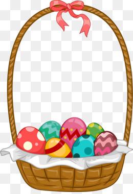 free download easter bunny easter basket clip art colorful candy png rh kisspng com easter basket clipart free easter basket clipart black and white