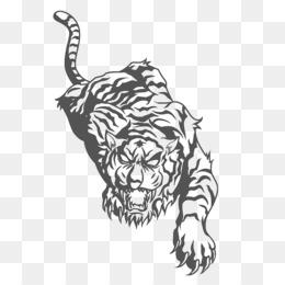 02682f9610fa3 Tiger The Story So Far Tattoo Pop punk Navy Blue - climbing tiger ...
