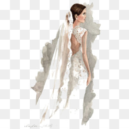 Wedding Clip Art Tangan Ditarik Sketsa Pernikahan Foto Pernikahan