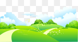 Landscape, Drawing, Photography, Leaf, Meadow PNG image with transparent background