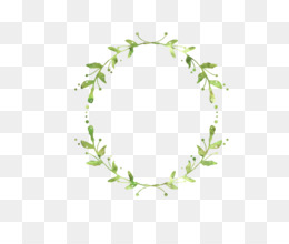 Wreath, Leaf, Garland, Square PNG image with transparent background