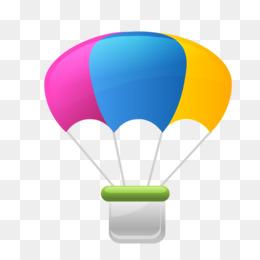 Cartoon Parachute Png Amp Cartoon Parachute Transparent