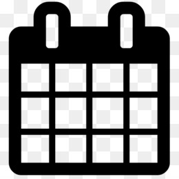 Calendar logo. Icon png monthly year