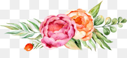 Floral design Watercolor painting Flower - Watercolor floral <img src=