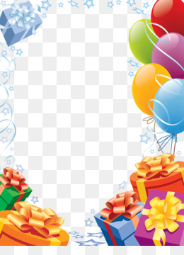 Happy Birthday Card, Birthday, Picture Frame, Petal, Balloon PNG image with transparent background