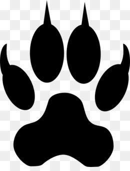 Dog Bengal Cat Tiger Paw Clip Art Paw Prints Png