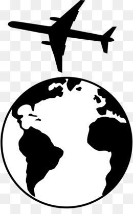 free download earth globe black and white clip art airplane rh kisspng com planet earth clipart black and white earth globe clipart black and white