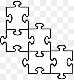 Jigsaw Puzzle Coloring Book Clip Art