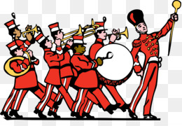 Marching Band Drumline Clipart