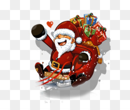 Pxe8re Noxebl, Santa Claus, Gift, Christmas Ornament, Fictional Character PNG image with transparent background