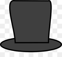 Top Hat, Hat, Outline Of Abraham Lincoln, Technology, Black And White PNG image with transparent background