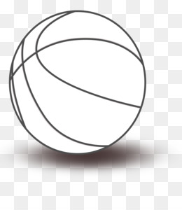 Perfect Basketball Black And White Clip Art   Toy Balls Cliparts