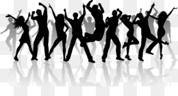Dance, Silhouette, Group Dance, Human Behavior, Performing Arts PNG image with transparent background